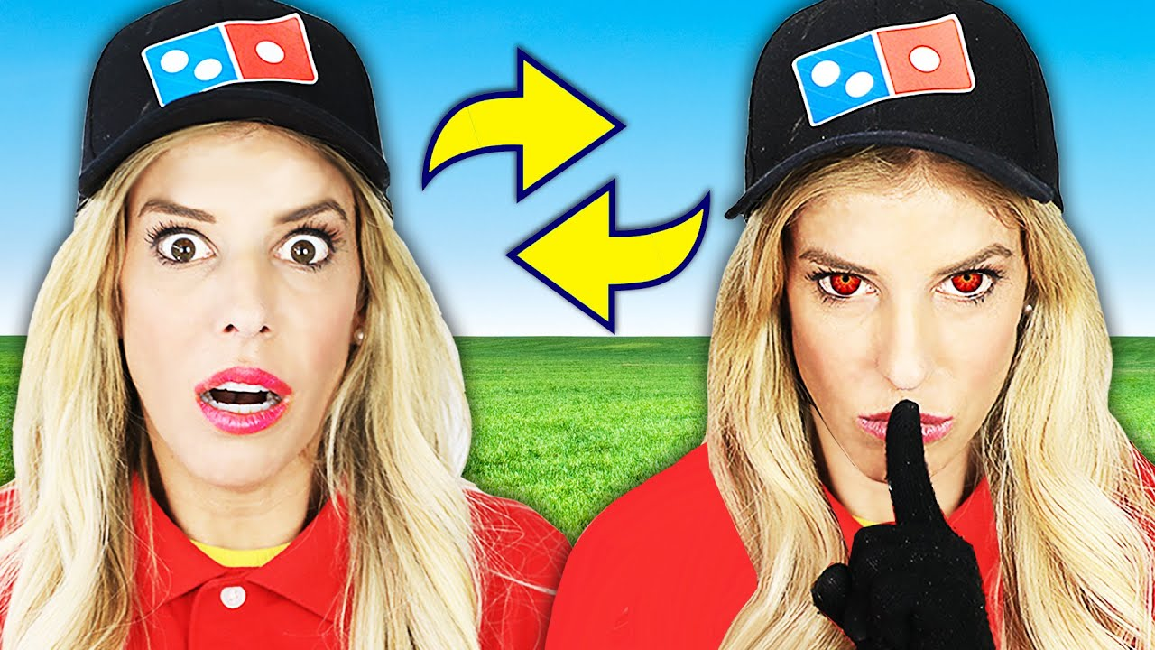Switching Places with Evil Twin for 24 Hours to Trick Best Friends! Rebecca Zamolo