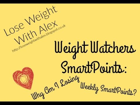 Weight Watchers Weekly Smartpoints: Why Am I Losing Weeklies?