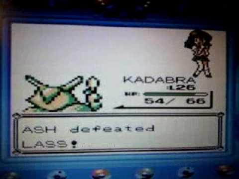 Catching a wild Blastoise in Pokemon Blue