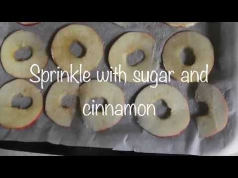 DIY: Homemade dried apple slices
