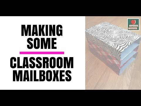 Make Your Own Student Classroom Cubbies!