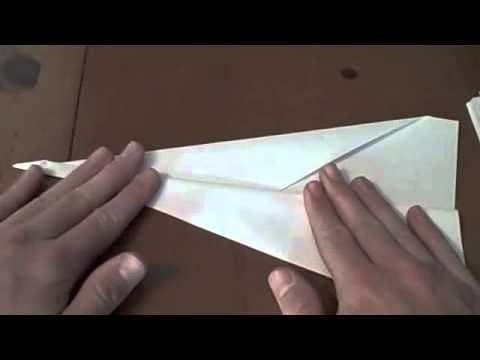 how to make the original paper plane