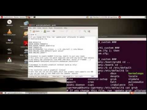 How to configure Grub 2 Boot Loader and Setup Triple Boot - Session 2