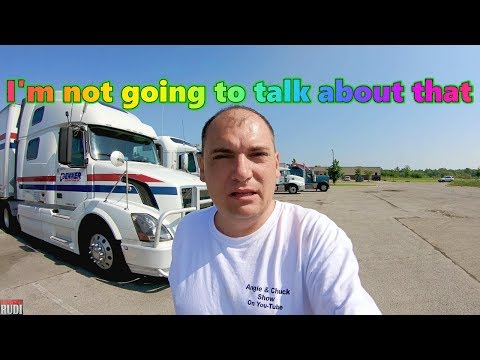 I'm not going to talk about that Trucker Rudi 06/02/18 Vlog#1443