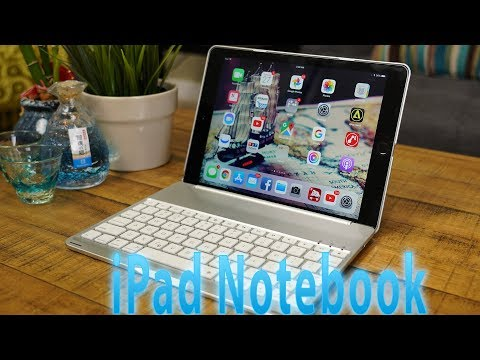 This iPad Keyboard Case Turns Your iPad Into a Laptop