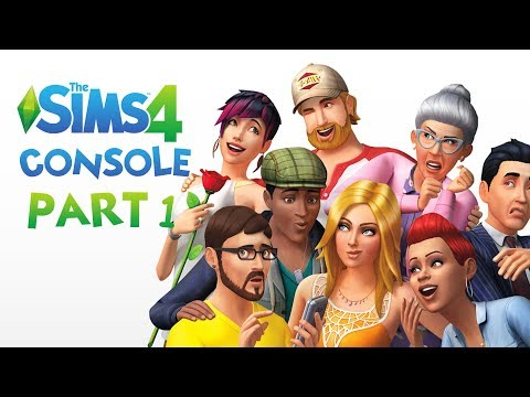 The Sims 4 Console Gameplay Walkthrough Part 1 - I'M FLIRTING ALREADY