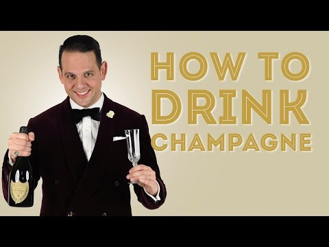 How To Chill, Open, Pour & Drink Champagne - A Quick Guide For New Years - Gentleman's Gazette