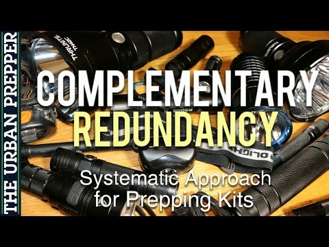 Complementary Redundancy: A Systematic Approach for Prepping Kits