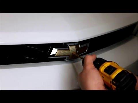 Camaro Bowtie Insert Installation