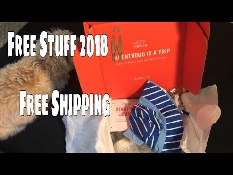 2018 Free Baby Stuff Free Shipping | BabyList UNboxing