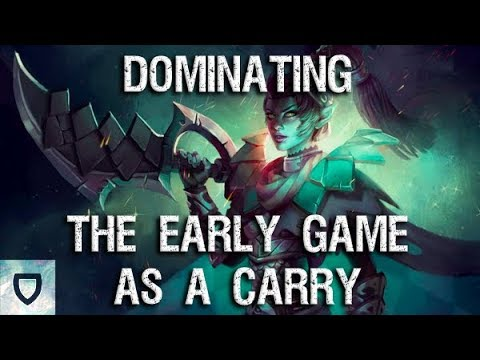 Early Impact as a Carry | How To Play Dota 2 Guides | PVGNA.com