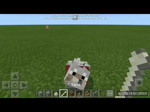 Minecraft PE how to tame wolf and ocelot