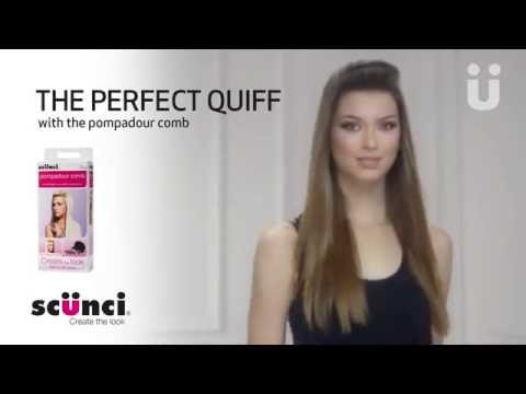 Scünci Create The Look – The Perfect Quiff