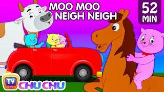 Three Little Kittens Went To The Farm - Farm Animals Nursery Rhymes by Cutians™   ChuChu TV