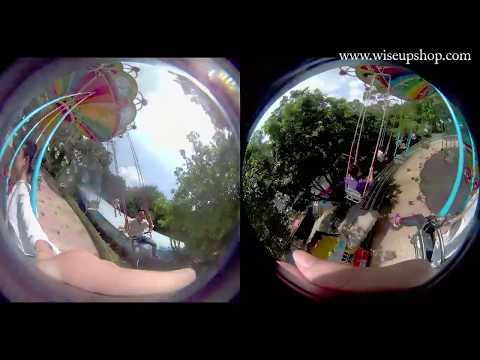 WISEUP 360 Degree Panorama Camera Operation Instruction and Video Footage (Model Number: SPORT12)