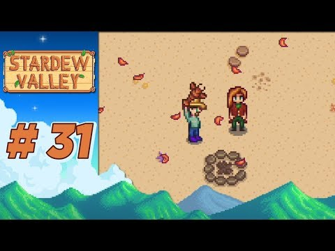 Stardew Valley :: Ep 31 - Birthday at the Beach!