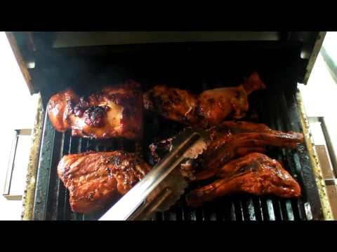 Infrared Grilled Split Legs & Thighs from