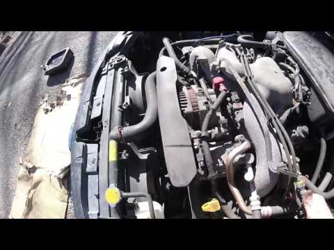 Changing Valve Cover Gaskets in a Subaru