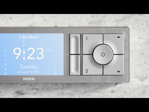 U by Moen Shower  |  How to start the shower from the Controller