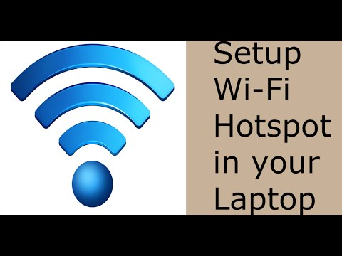 How To Setup Wi-Fi Hotspot using Windows 7/8/10 Laptop without any App ? - RARK