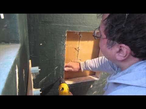 Complete tile shower install studs to tile: Part 8 Cutting in and Making a Recessed Niche