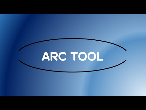 Adobe Illustrator CC Tutorial | Line Segment Tools - Arc Tool #C4-E2
