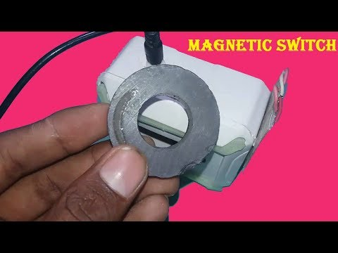 How to make Magnetic switch led light
