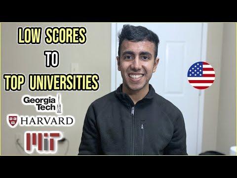 Top Universities With Low Scores   Undergrad & MS in US