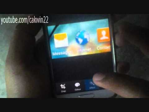 Samsung Galaxy S4: How to do a Screenshot (Android Kitkat)