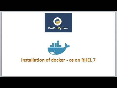 DevOps - Docker| video-2 | How to install docker on RHEL 7 Server ?