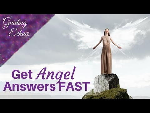 3 Ways To Get IMMEDIATE Answers From Your Guardian Angels and Spirit Guides | Guiding Echoes