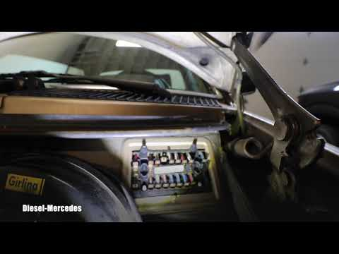 Mercedes W123 Fuses Location, Replacement