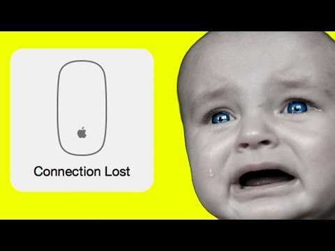 How to reconnect an apple wireless mouse