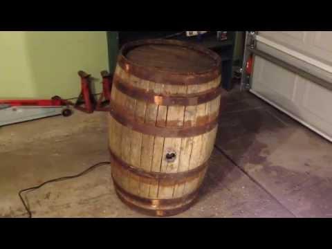 Shaking Barrel Halloween Prop animatronic