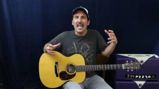 Improve Your Acoustic Playing Dramatically In 10 Minutes - Guitar Lesson - Rhythm Tips - EASY