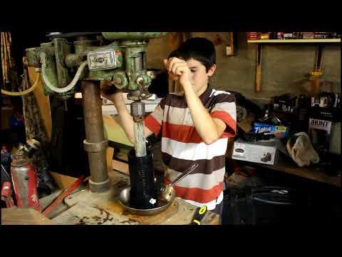 THE BOYS CREATE - Homemade Cider Press