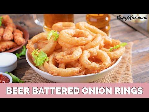 How to Make Homemade Onion Rings
