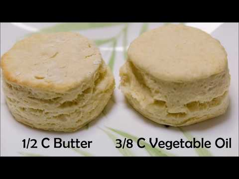 Biscuit Experiment: Butter vs Oil