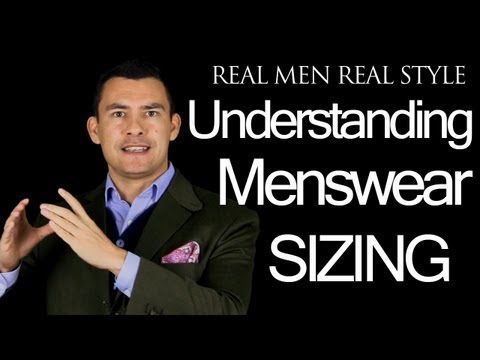 Mens Clothing Sizes - Understanding Menswear Sizing - Male Shirt Suit Trouser Measurements