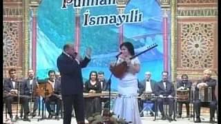 Творческий вечер азербайджанского тамады Пюнхана Исмайыллы. Выступление с ашуг Телли Борчалы.