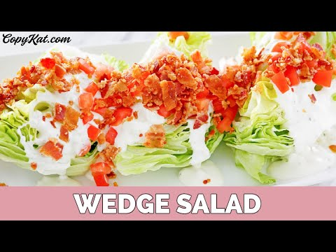 How to Make a Wedge Salad