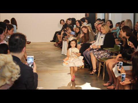 Stella Walks the Runway for Vivian Luk's Charity Fashion Show