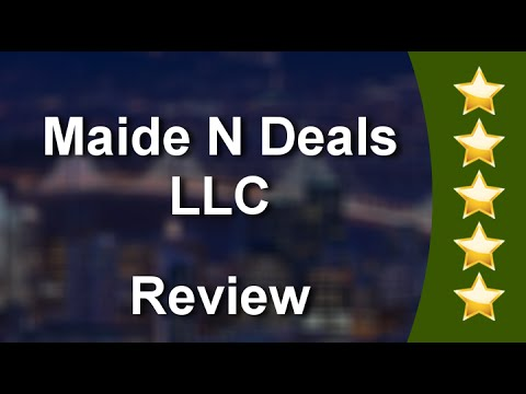 Maide N Deals LLC Katy Outstanding 5 Star Review by Isholavo
