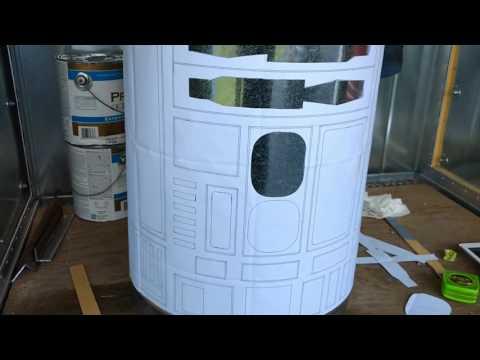 R2D2 life-size DIY build.