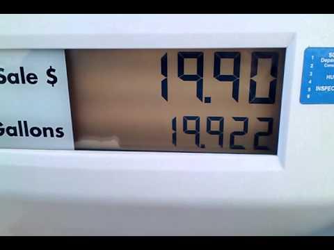 Gasoline Fill Up @ 99.9 Cents Per Gallon 1-31-2015
