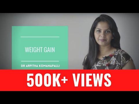 5 Natural ways to gain weight | Dr. Arpitha Komanapalli