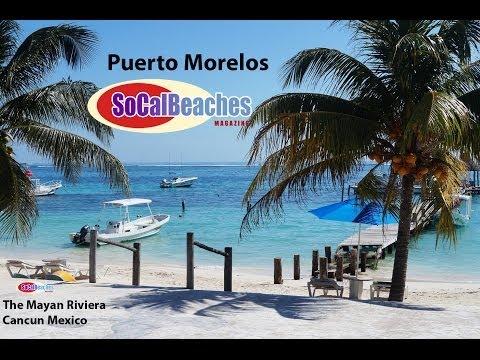 Puerto Morelos Beach Mayan Riviera Cancun Mexico