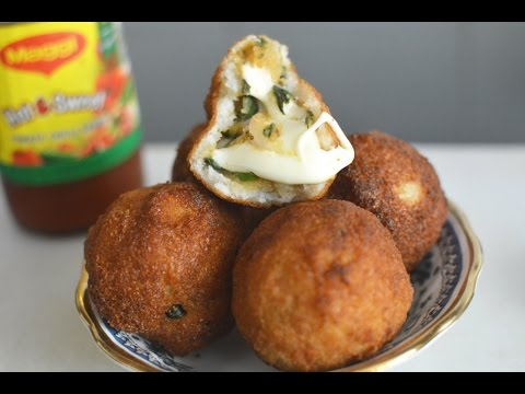 Bread Roll Recipe   Spicy Potato and Cheese Stuffing   Easy And Quick Indian Breakfast Recipe