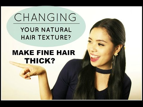 CAN YOU MAKE FINE THIN HAIR BECOME THICK & COARSE NATURALLY? BEAUTYKLOVE