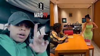 Yaya Mayweather Calls Out Cardi B & Offset Over Birkin Bag! 👜